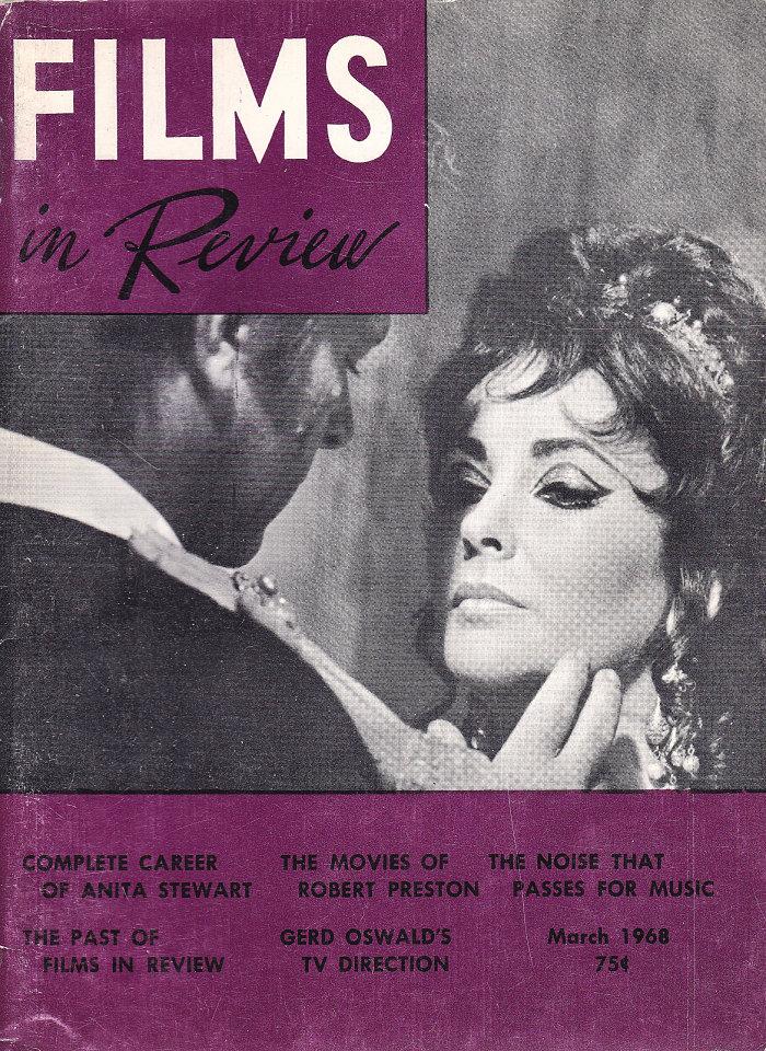 Films in Review Vol. XIX No. 3