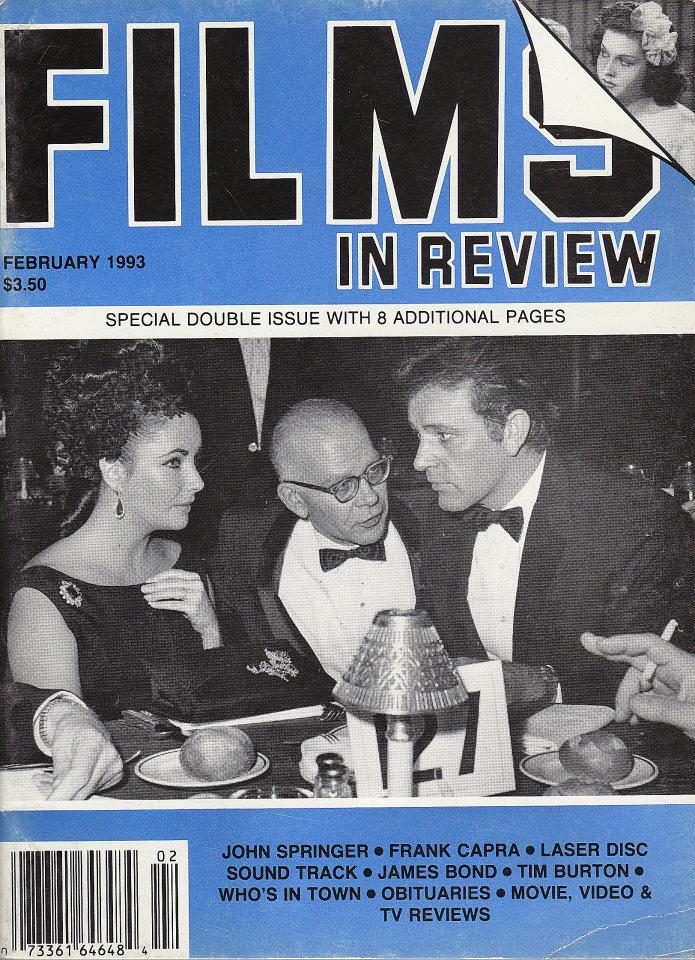 Films in Review Vol. XLIV No. 1 / 2