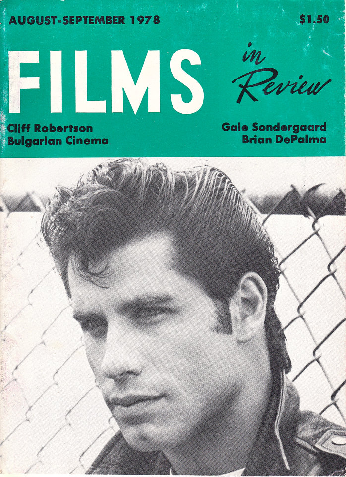 Films in Review Vol. XXIX No. 7