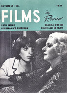 Films in Review Vol. XXVII No. 9 Magazine