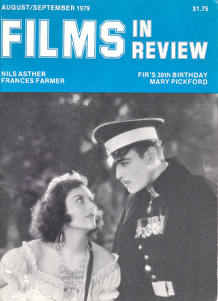 Films in Review Vol. XXX No. 7