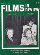 Films in Review Vol. XXXII No. 3 Magazine