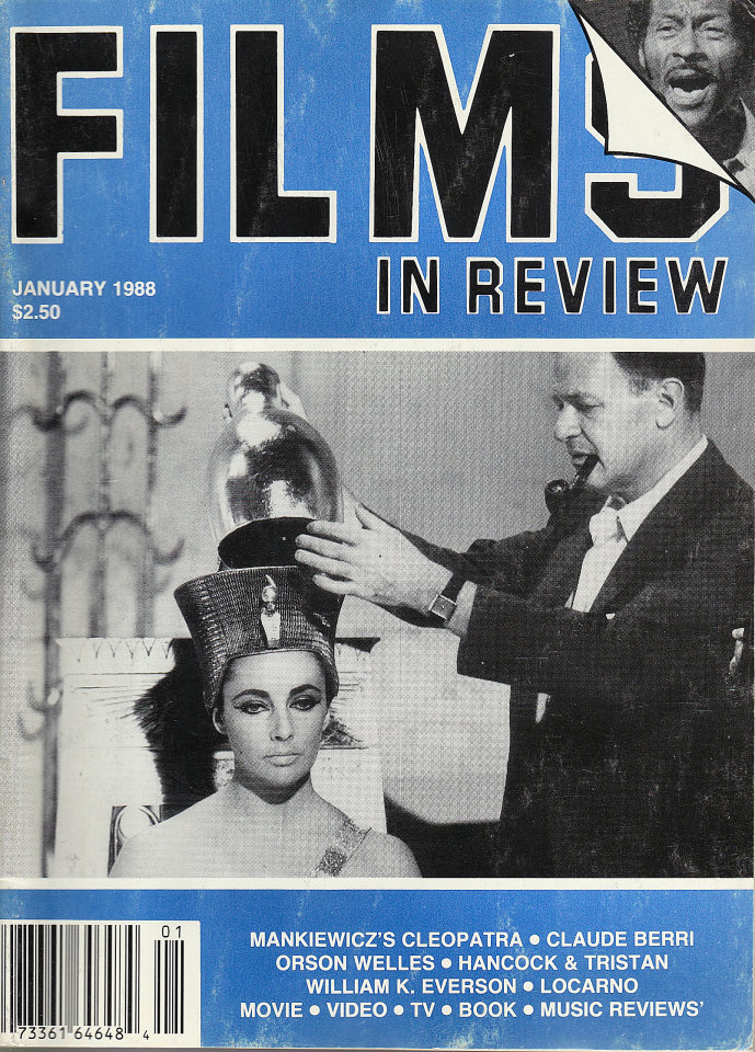 Films in Review Vol. XXXIX No. 1