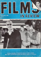 Films in Review Vol. XXXVIII No. 1 Magazine