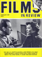 Films in Review Vol. XXXVIII No. 2 Magazine