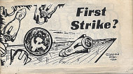First Strike? Comic Book
