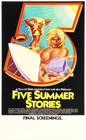Five Summer Stories Handbill