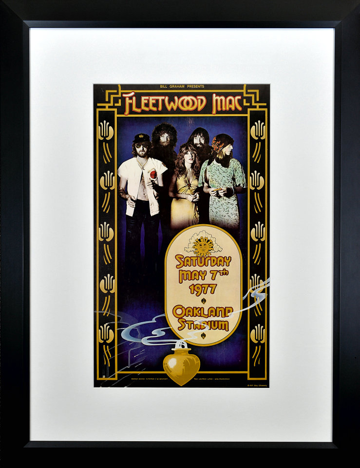 Fleetwood Mac Framed Poster