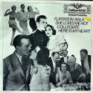 """Flirtation Walk / She Loves Me Not / Collegiate / Here Is My Heart Vinyl 12"""" (New)"""