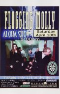 Flogging Molly Handbill