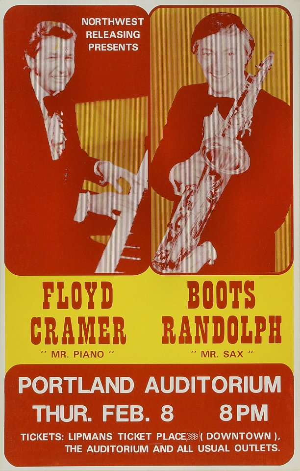 "Floyd ""Mr. Piano"" Cramer Poster"