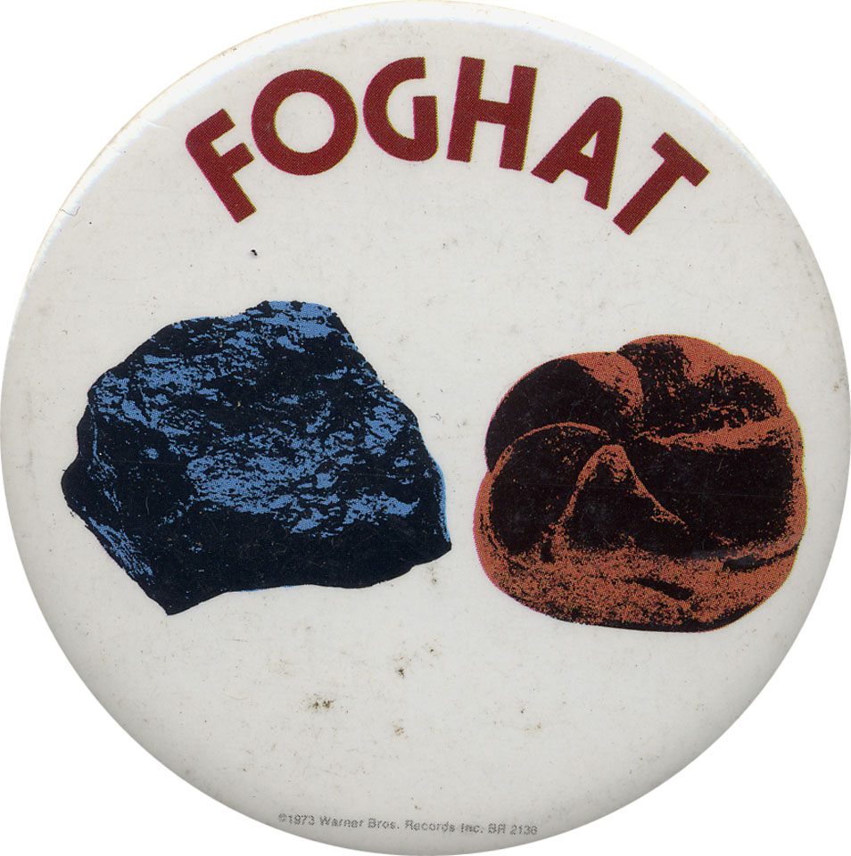 Foghat Pin
