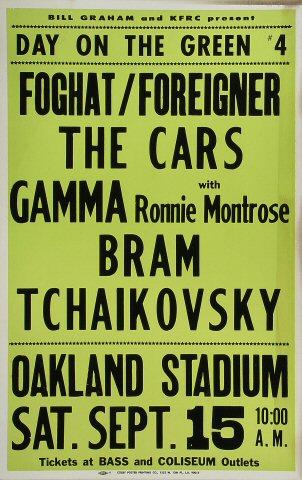 Foghat Poster