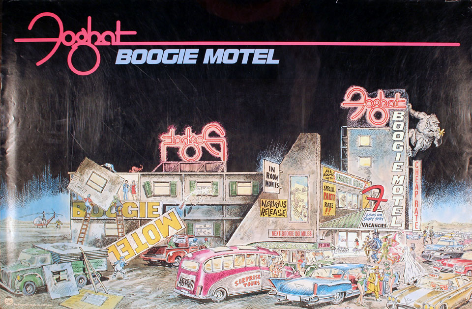 Foghat Poster