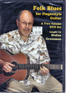 Folk Blues for Fingerstyle Guitar DVD