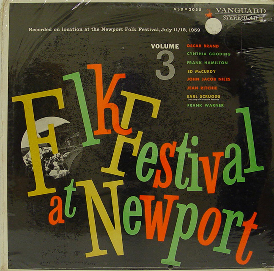 "Folk Festival at Newport Volume 3 Vinyl 12"" (New)"