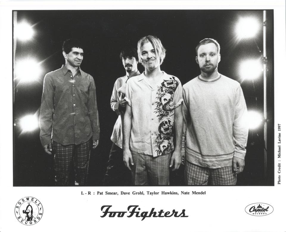 Foo Fighters Promo Print