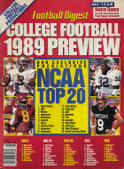 Football Digest 1989 College Football Preview Magazine