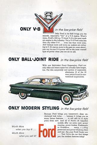 Ford Crestline Victoria Vintage Ad