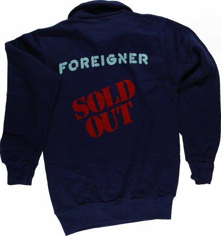 Foreigner Men's Vintage Sweatshirts reverse side