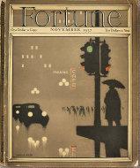 Fortune Vol. XVI No. 5 Magazine