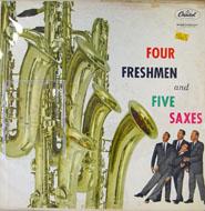 """Four Freshmen And Five Saxes Vinyl 12"""" (Used)"""