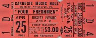 Four Freshmen Vintage Ticket