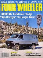 Four Wheeler Magazine April 1978 Magazine