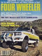Four Wheeler Magazine August 1977 Magazine