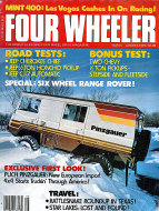 Four Wheeler Magazine August 1978 Magazine