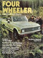 Four Wheeler Magazine December 1971 Magazine