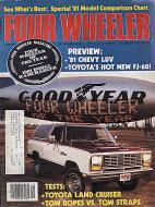 Four Wheeler Magazine December 1980 Magazine