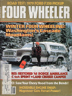 Four Wheeler Magazine January 1979 Magazine