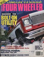 Four Wheeler Magazine July 1991 Magazine