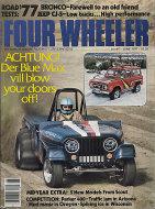 Four Wheeler Magazine June 1977 Magazine
