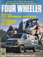 Four Wheeler Magazine May 1977 Magazine