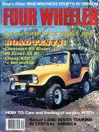 Four Wheeler Magazine May 1978 Magazine