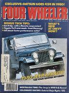 Four Wheeler Magazine November 1979 Magazine