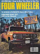 Four Wheeler Magazine October 1977 Magazine
