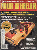 Four Wheeler Magazine October 1978 Magazine