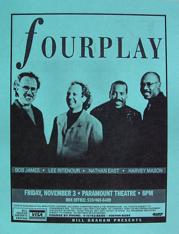 Fourplay Handbill