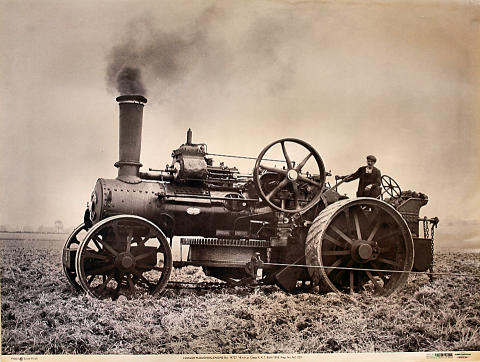 Fowler Ploughing Engine No. 14727 Poster