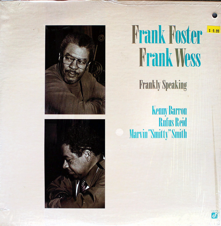 """Frank Foster / Frank Wess Vinyl 12"""" (Used)"""
