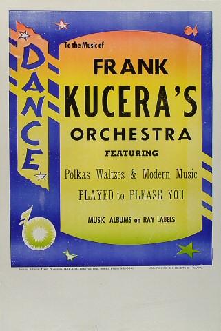 Frank Kucera's Orchestra Poster