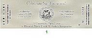 Frank M. Jordan Vintage Ticket