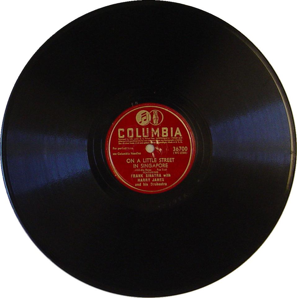 Frank Sinatra / Harry James 78
