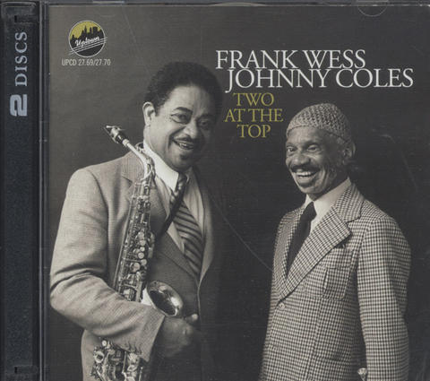 Frank Wess & Johnny Coles CD