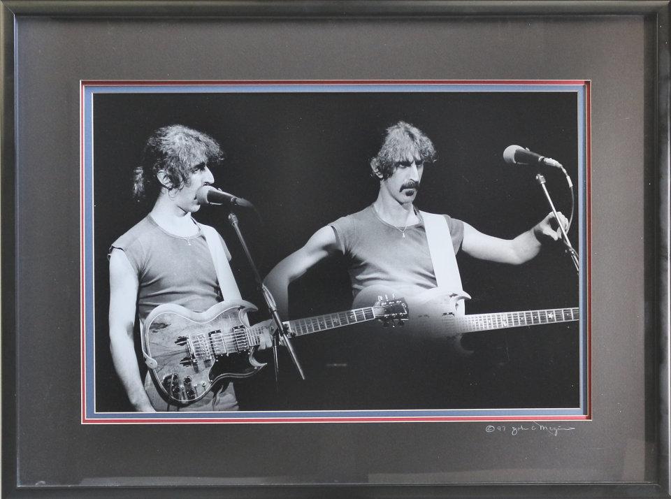 Frank Zappa Framed Vintage Print