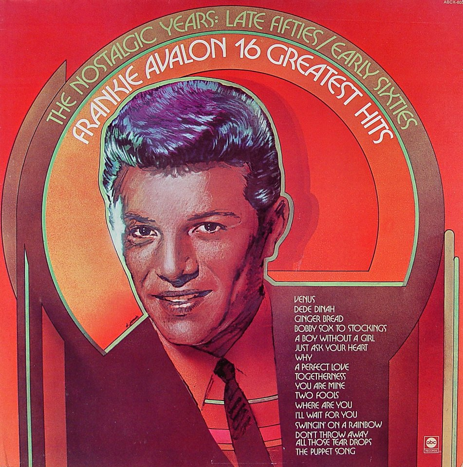 "Frankie Avalon Vinyl 12"" (Used)"