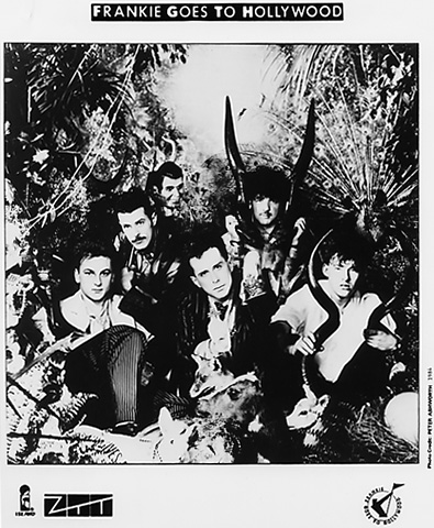 Frankie Goes to Hollywood Promo Print